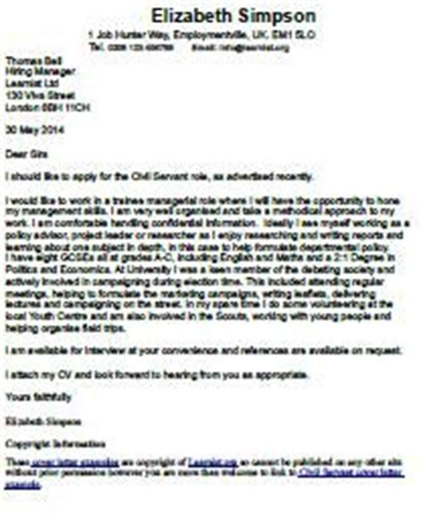 Personal application letter sample